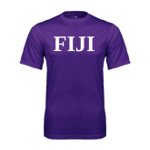 Performance Purple Tee-FIJI Contemporary