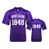 Replica Purple Adult Football Jersey-Arched Phi Gam