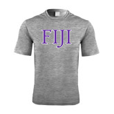 Performance Grey Heather Contender Tee-FIJI Two Color