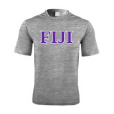 Performance Grey Heather Contender Tee-FIJI Contemporary Two Color