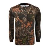 Realtree Camo Long Sleeve T Shirt w/Pocket-FIJI