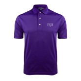 Purple Dry Mesh Polo-FIJI
