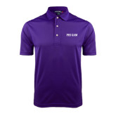 Purple Dry Mesh Polo-Phi Gam