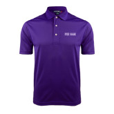 Purple Dry Mesh Polo-Phi Gam Two Color