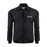 Black Players Jacket-Phi Gam Two Color