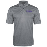 Nike Golf Dri Fit Charcoal Heather Polo-Phi Gam