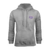 Grey Fleece Hoodie-FIJI