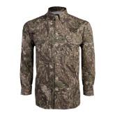 Camo Long Sleeve Performance Fishing Shirt-FIJI