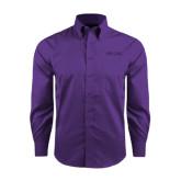 Red House Purple Long Sleeve Shirt-Phi Gam