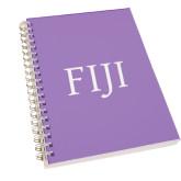 Clear 7 x 10 Spiral Journal Notebook-FIJI