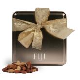 Deluxe Nut Medley Gold Medium Tin-FIJI Engraved