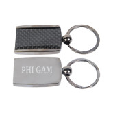 Corbetta Key Holder-Phi Gam Engraved