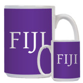 Full Color White Mug 15oz-FIJI
