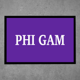 Full Color Indoor Floor Mat-Phi Gam