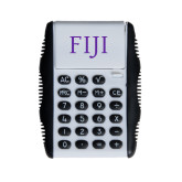 White Flip Cover Calculator-FIJI