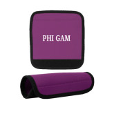 Neoprene Purple Luggage Gripper-Phi Gam