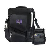 Momentum Black Computer Messenger Bag-FIJI Two Color