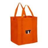 Non Woven Orange Grocery Tote-Primary Mark