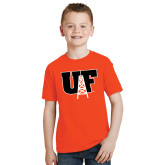 Youth Orange T Shirt-Primary Mark