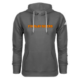 Adidas Climawarm Charcoal Team Issue Hoodie-Findlay Oilers Word Mark