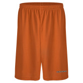 Performance Classic Orange 9 Inch Short-Findlay Oilers Word Mark