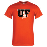 Orange T Shirt-Primary Mark Distressed