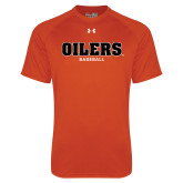 Under Armour Orange Tech Tee-Baseball