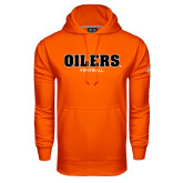 Under Armour Orange Performance Sweats Team Hoodie-Football