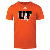 Adidas Orange Logo T Shirt-Primary Mark