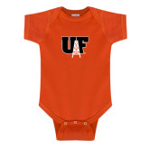 Orange Infant Onesie-Primary Mark