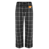 Black/Grey Flannel Pajama Pant-Primary Mark