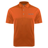 Orange Dry Mesh Polo-Findlay Oilers Word Mark