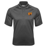 Charcoal Dri Mesh Pro Polo-Primary Mark