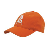 Orange OttoFlex Unstructured Low Profile Hat-Oil Derrick