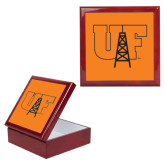 Red Mahogany Accessory Box With 6 x 6 Tile-Primary Mark