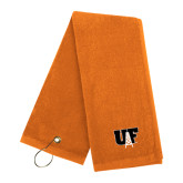 Orange Golf Towel-Primary Mark