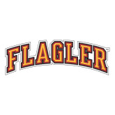 Large Decal-Flagler Arched, 12 inches wide