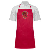 Full Length Red Apron-Secondary Mark