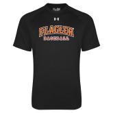 Under Armour Black Tech Tee-Baseball
