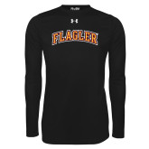 Under Armour Black Long Sleeve Tech Tee-Flagler Arched