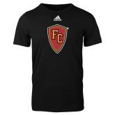 Adidas Black Logo T Shirt-Secondary Mark