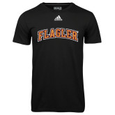 Adidas Climalite Black Ultimate Performance Tee-Flagler Arched
