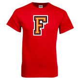 Red T Shirt-Letter F Logo