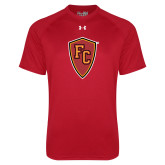 Under Armour Red Tech Tee-Secondary Mark