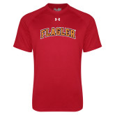 Under Armour Red Tech Tee-Flagler Arched