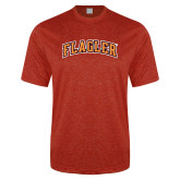 Performance Red Heather Contender Tee-Flagler Arched