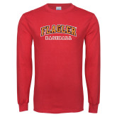 Red Long Sleeve T Shirt-Baseball