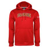 Under Armour Red Performance Sweats Team Hoodie-Flagler Arched