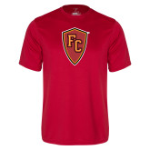 Performance Red Tee-Secondary Mark