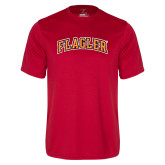 Syntrel Performance Red Tee-Flagler Arched